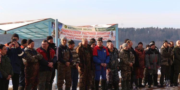 Соревнования по подледному лову рыбы