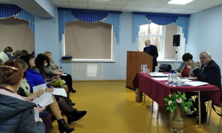 Выездное заседание Президиума Витебского областного комитета профсоюза работников образования и науки